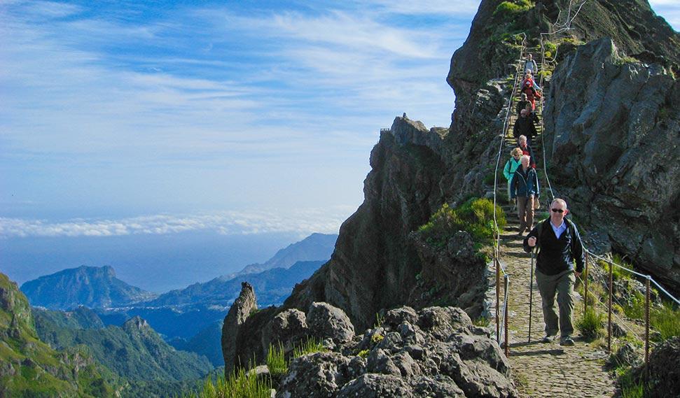 Levada Wanderungen Auf Madeira